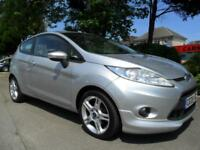 FORD FIESTA 1.6TDCi 2009 ZETEC S COMPLETE WITH M.O.T HPI CLEAR INC WARRANTY