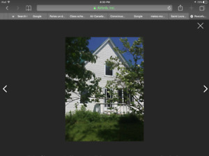 House fully furnished in St-Louis de Kent