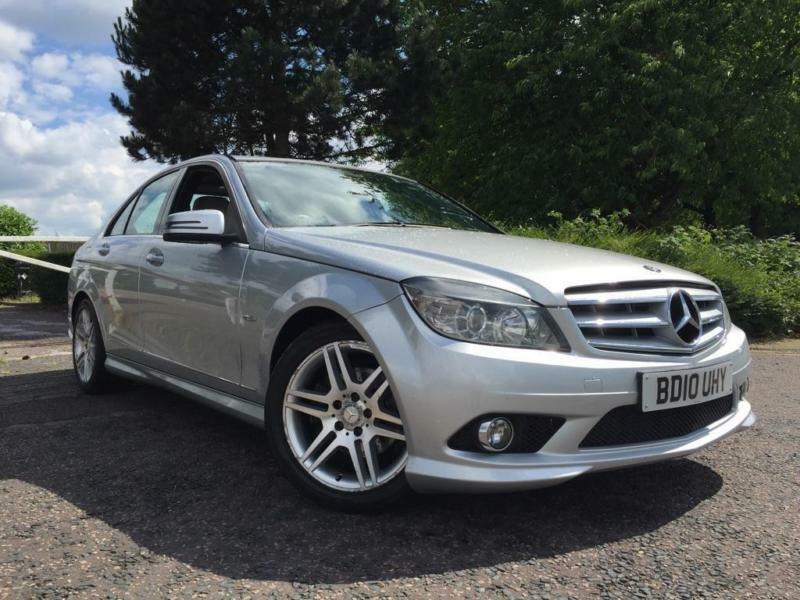 2010 mercedes benz c class 2 1 c200 cdi blueefficiency sport 4dr in stoke on trent. Black Bedroom Furniture Sets. Home Design Ideas