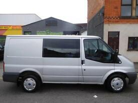 Stunning 2008 Ford Transit SWB 6 seat factory fitted crew van GLX spec (49)