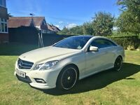 Mercedes-Benz E350 CDI AMG LINE COUPE 7G TRONIC