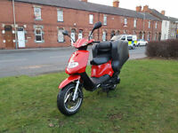 TGB 125 Delivery scooter PX Uk delivery 12 months mot