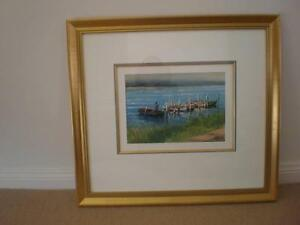 "John Vander Oil Painting ""Buckets Loads"" Narara Gosford Area Preview"