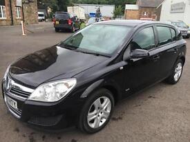 0909 Vauxhall Astra 1.6i 16v VVT ( 115ps ) Club Black 5 Door 78846mls MOT May 17