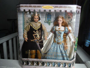 King Arthur and Guinevere Collectible Barbie Prince George British Columbia image 1