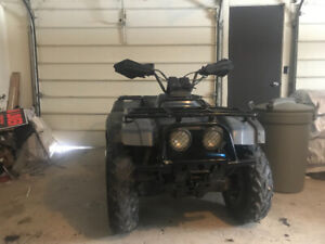 ISO front differential for 1998 Suzuki quad runner