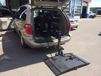 **BackPacker Plus - Vehicle Scooter / Wheelchair Lift TRADES**