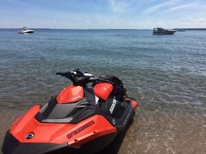 2016 sea doo spark 3up IBR and VTS