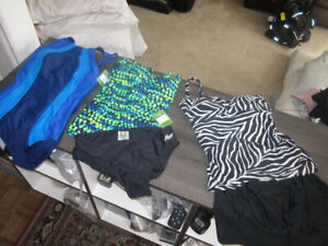 Bathing Suits, Ladies, Roots 6 & 8, Christina 6, BNWT:$9.00