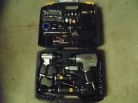 67 Piece Air-Powered Tool Kit.  Impact Wrench, Hammer, Ratchet