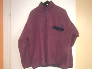 Two Patagonia Synchilla Snap-T Fleece Pullovers Bundle Size XL