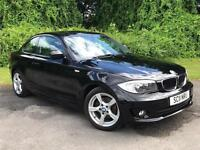 2011 BMW 1 Series 2.0 120d Sport 2dr COUPE in BLACK