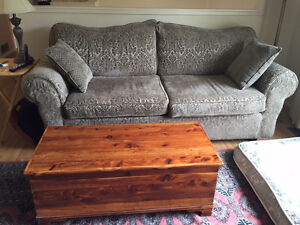 Green couch for sale, Matching Love seat also available