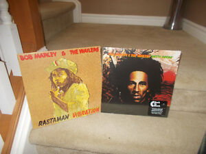 "BOB MARLEY "" SEALED"" VINYL RECORDS Re-Released LP's"
