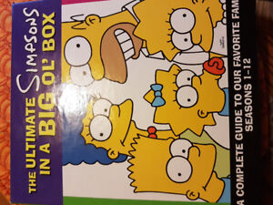 Ultimate Simpson's In A Big Ol' Box Book Set