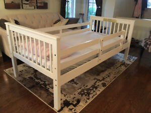 White twin bed -$80