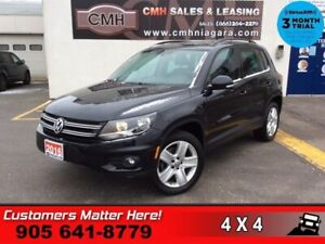 2016 Volkswagen Tiguan Comfortline  AWD TECH-PKG NAV ROOF LEATH