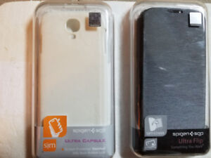 Samsung Galaxy S4 Spigen Case *New* 2 cases for only $8 both!