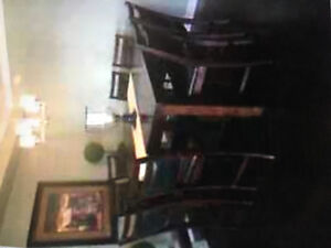 8 Piece High Top Table and Chairs