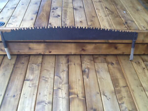 Large Saw Blade with handles