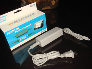 NINTENDO WII U-GAMEPAD-AC ADAPTATEUR/CHARGE ADAPTER-OU/OR/USB CABLE (NEUF/NEW) [VOIR/SEE DESCRIPTION] (C002)