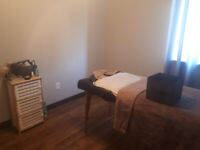Relaxation massage and waxing services