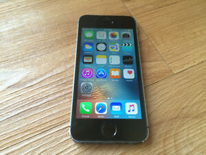 Apple iPhone 5S Space Gray 16GB in Good Condition (Rogers/Chatr)