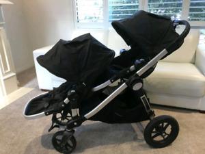 Baby Jogger City Select double excellent état