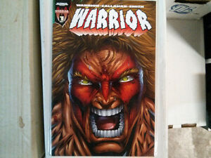 Ultimate Warrior comic issue #1 $5