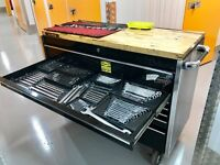 Snap on KRL tool box and tools job lot