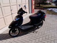 E-bike, good condition with battery, charger, storage and helmet