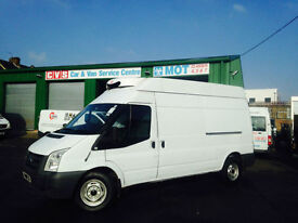 2009 09 Ford Transit 2.4TDCi 100PS Refrigerated H/Roof Van 350 LWB