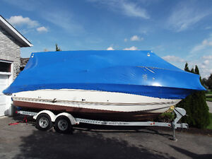 Boat Shrink Wrapping