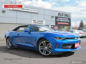 2017 Chevrolet Camaro LT  1 OWNER & BOUGHT SERVICED @ OLD MILL +