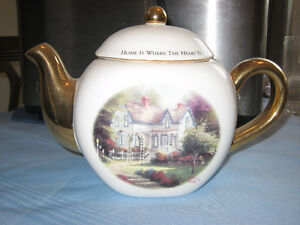 Thomas Kinkade Tea pot