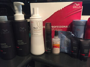 Lot of Wella Color Support Products