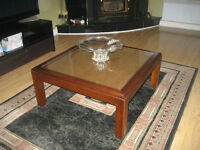Glass/Wood Coffee Tables!