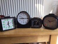 4 Table clocks