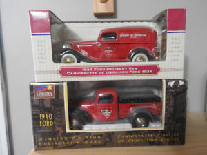 2 Canadian Tire Die Cast Trucks