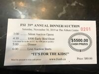 Fredericton Annual Sports Auction