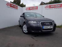 2008 57 AUDI A3 1.6 SPECIAL EDITION SPORTBACK 5 DOOR.1 OWNER FROM NEW.FULL S/H .