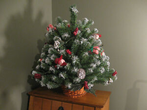 Vintage Tabletop Christmas Tree Prince George British Columbia image 4