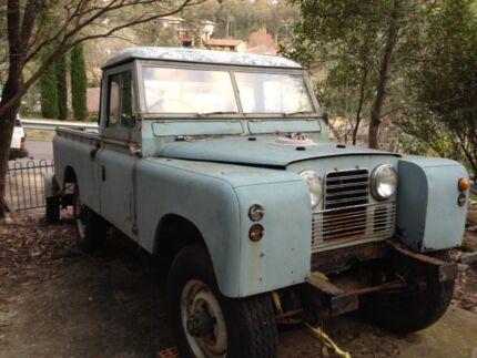 Land rover series iia ii Faulconbridge Blue Mountains Preview
