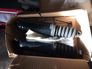 Harley 13 inch air shocks ,air shock pump