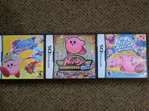 Kirby DS collection