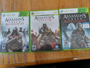Xbox 360 Assasins creed collection