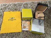 Breitling watch box and more!