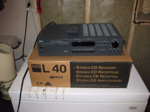 NAD L40 Integrated Amplifier, Tuner, CD Player