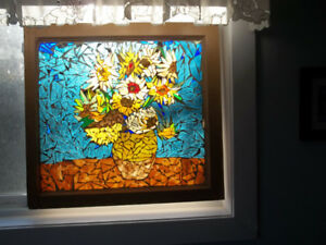Stained Glass Mosaic Tiles