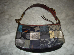 COACH Patchwork Purse in Good Condition